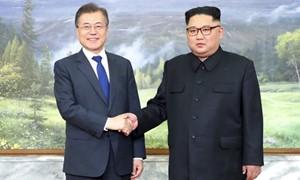 Tổng thống Hàn Quốc và lãnh đạo Triều Tiên gặp mặt