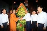 Phó Thủ tướng Trương Hòa Bình chúc mừng Lễ Phật đản