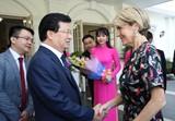 Phó Thủ tướng Trịnh Đình Dũng tiếp Bộ trưởng Ngoại giao Australia