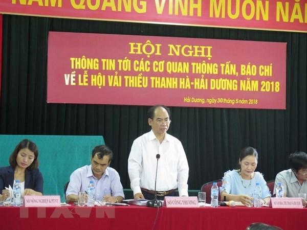 Hải Dương sẽ tổ chức Lễ hội vải thiều Thanh Hà vào ngày 10/6