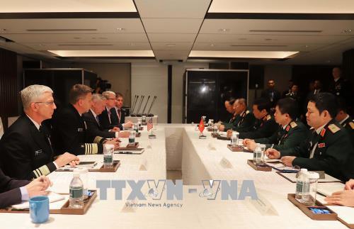 Việt Nam và Hoa Kỳ tăng cường hợp tác trong lĩnh vực công nghiệp quốc phòng