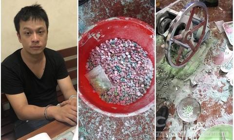 Tp Hồ Chí Minh: Triệt phá đường dây sản xuất, phân phối ma túy cực lớn