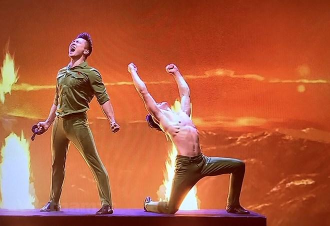 Quốc Cơ và Quốc Nghiệp - cảm hứng Việt Nam tại Britain's Got Talent