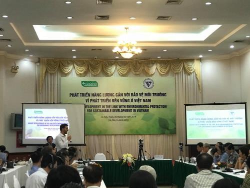 Phát triển năng lượng gắn với bảo vệ môi trường vì phát triển bền vững ở Việt Nam