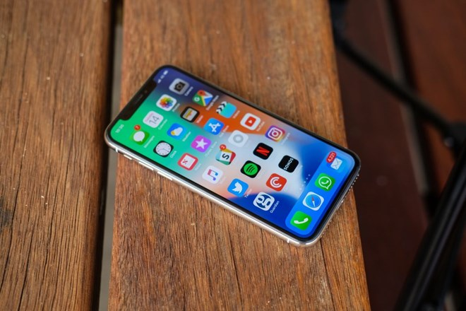 iPhone X là điện thoại thông minh bán chạy nhất trong quý 1/2018