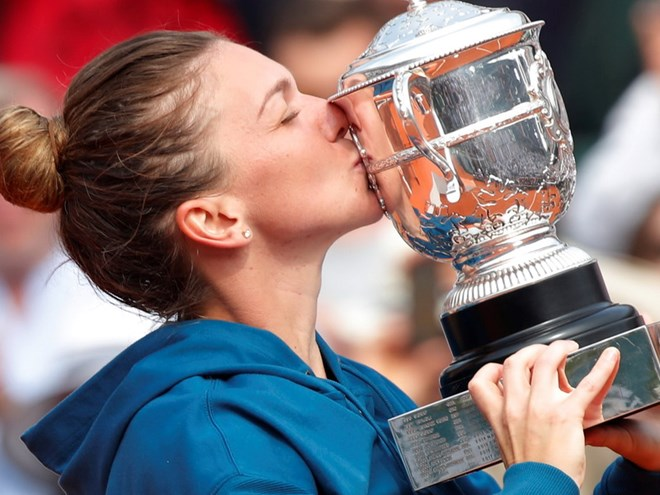 Simona Halep lần đầu tiên giành chức vô địch tại Roland Garros