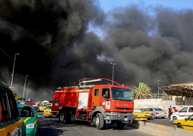 Iraq: Hỏa hoạn tại điểm chuẩn bị kiểm tra lại phiếu bầu