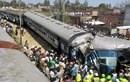 Tàu hỏa trật bánh gây gián đoạn giao thông ở Ấn Độ
