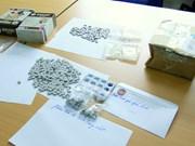 Bắt giữ hơn 500 viên ma túy vận chuyển theo đường chuyển phát nhanh