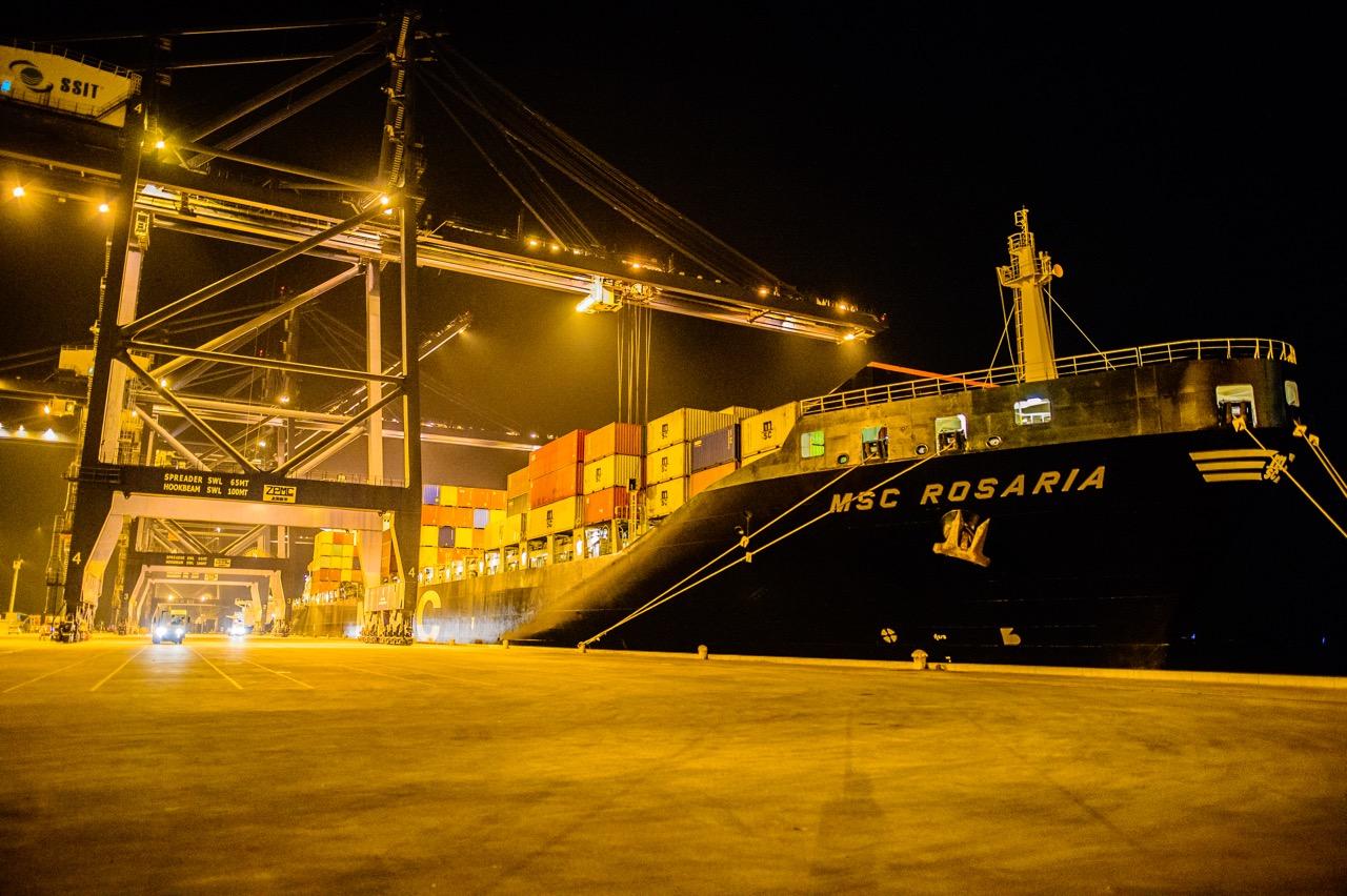 Cảng SSIT đón tàu container 5.000 Teus đầu tiên