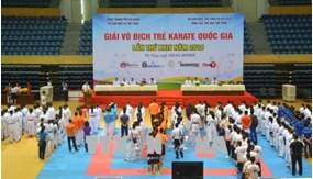 Khai mạc Giải Vô địch trẻ Karatedo toàn quốc năm 2018