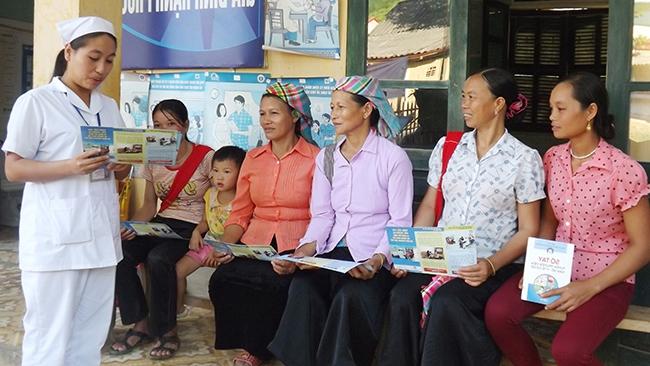 Ba tuần, ghi nhận 57 trường hợp mắc bệnh sởi ở huyện Điện Biên Đông