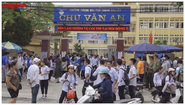 LẠNG SƠN: TRÊN 9.000 THÍ SINH BƯỚC VÀO KỲ THI THPT QUỐC GIA
