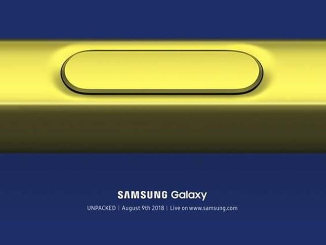 Samsung ấn định thời gian tổ chức sự kiện ra mắt Galaxy Note 9