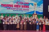 Vinh danh 'Thương hiệu vàng nông nghiệp Việt Nam'