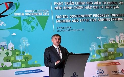 Bộ Công Thương ở tốp cuối bảng xếp hạng phát triển Chính phủ điện tử
