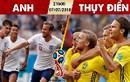 Lịch thi đấu World Cup 2018 hôm nay (7/7): Anh đại chiến Thụy Điển
