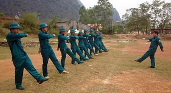 Ban CHQS huyện Hữu Lũng: Điểm sáng học và làm theo gương Bác