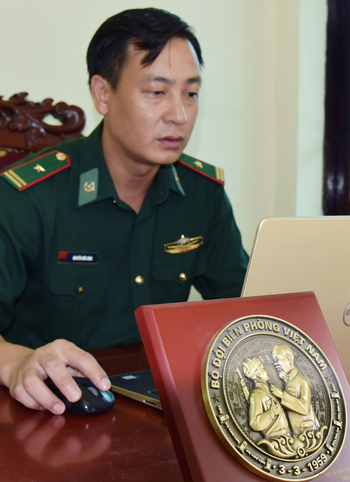 Thiếu tá Nguyễn Đức Bính: Nêu gương người đứng đầu
