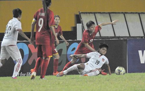 Giải vô địch Đông Nam Á: Đội tuyển nữ Việt Nam thắng liền 4 trận