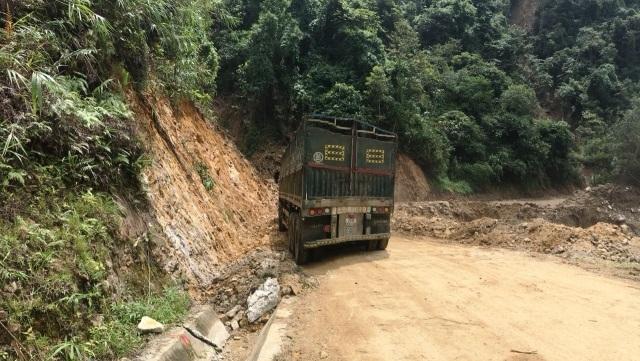 Quốc lộ 279 nối Lào Cai với Lai Châu đã hoàn toàn thông xe