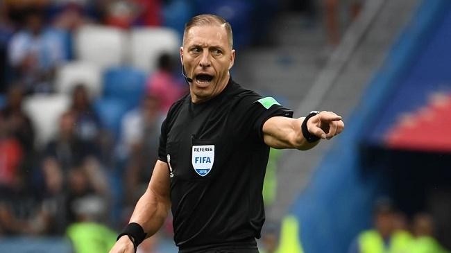 Trọng tài Nestor Pitana bắt chính trận chung kết World Cup 2018