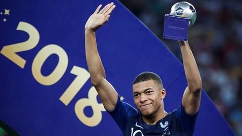 Kylian Mbappé ẵm giải cầu thủ trẻ xuất sắc nhất World Cup 2018