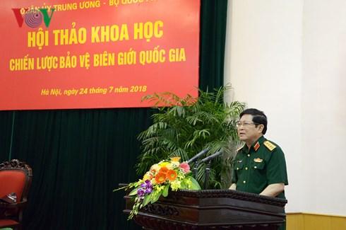 Góp ý dự thảo Chiến lược bảo vệ biên giới quốc gia