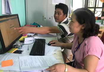 Lộc Bình: Vận hành hiệu quả phần mềm quản lý thông tin đất đai