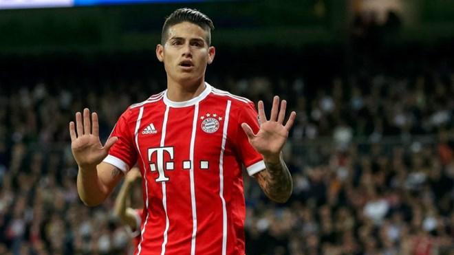Tiền vệ James Rodriguez bị phạt gần 12 triệu euro vì trốn thuế