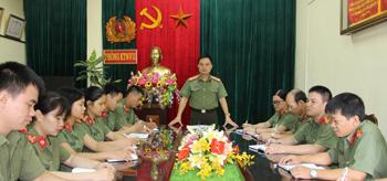 Phòng PA71 Công an tỉnh: Học tập, rèn luyện theo lời Bác