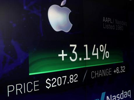 Phố Wall dự báo giá trị của Apple có thể tăng tới 1.300 tỷ USD