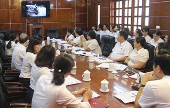 Chi bộ Văn phòng - Tổ chức cán bộ, Tòa án Nhân dân tỉnh: Thực hiện Chỉ thị 05 gắn với nhiệm vụ chuyên môn