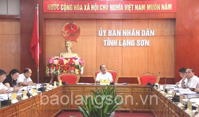 Họp Ban chỉ đạo tổ chức Ngày hội Na Chi Lăng năm 2018