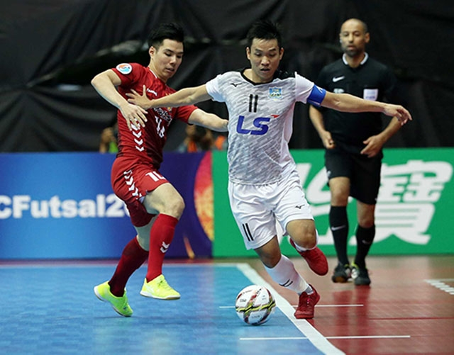 CLB Thái Sơn Nam lọt vào bán kết Giải futsal châu Á