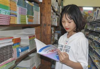 Sách giáo khoa trước thềm năm học mới