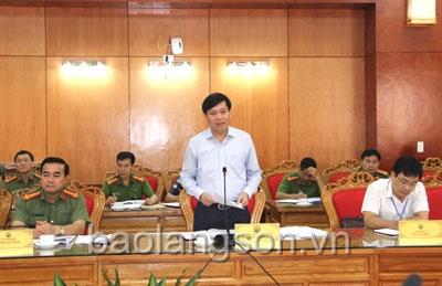 Sẽ thanh tra về phòng cháy chữa cháy tại Lạng Sơn trong 45 ngày