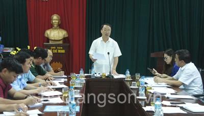 Lãnh đạo UBND tỉnh kiểm tra tại cửa khẩu Chi Ma
