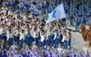 Đoàn thể thao Triều Tiên và Hàn Quốc diễu hành chung tại Asiad 2018