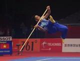 Wushu 'bất ngờ' giành Huy chương Bạc thứ 2 cho TTVN