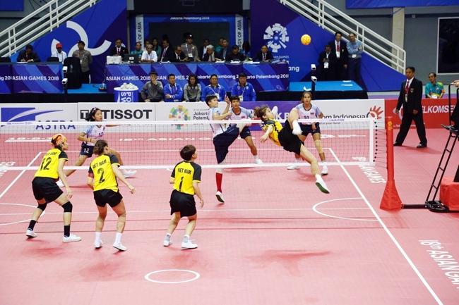 Đoàn Việt Nam kết thúc thi đấu ở vị trí thứ 17