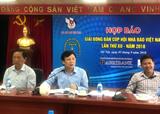 231 vận động viên tranh tài tại Giải bóng bàn cúp Hội Nhà báo Việt Nam 2018