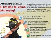 [Infographics] Làm thế nào để tránh bị lừa đảo tài chính trên mạng?