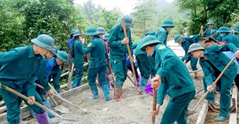 Đảng bộ Quân sự huyện Bắc Sơn: Học tập và làm theo gương Bác