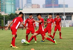 Bóng đá trẻ Việt Nam chuẩn bị cho 'đấu trường' châu lục