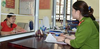Công an thành phố Lạng Sơn: Học tập sáu điều Bác Hồ dạy