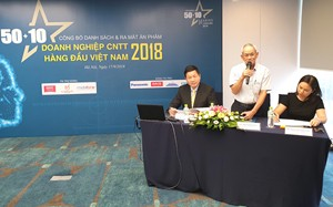 Công bố 50 doanh nghiệp CNTT hàng đầu Việt Nam năm 2018