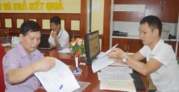 Sở Tài nguyên và Môi trường: Cải cách thủ tục hành chính, tạo thuận lợi cho tổ chức, cá nhân