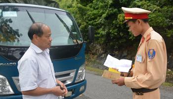 Bình Gia: Kiềm chế tai nạn giao thông