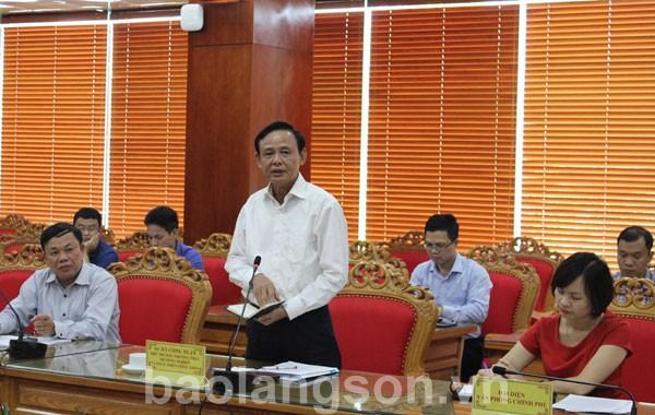 Kiểm tra công tác phòng bệnh dịch tả lợn châu Phi xâm nhiễm vào Việt Nam tại Lạng Sơn
